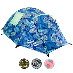 2018 Factory custom two person cool patterns fun unique camping tents