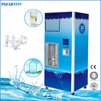 Drinking water kiosk/24hours service water vending station machine
