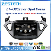 new model for opel corsa car radio gps dvd player touch screen Car DVD audio for Opel Corsa 2014-2016 with 1024*600 Resolution
