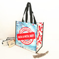 CMYK colors printing customized medium size non-woven gift tote