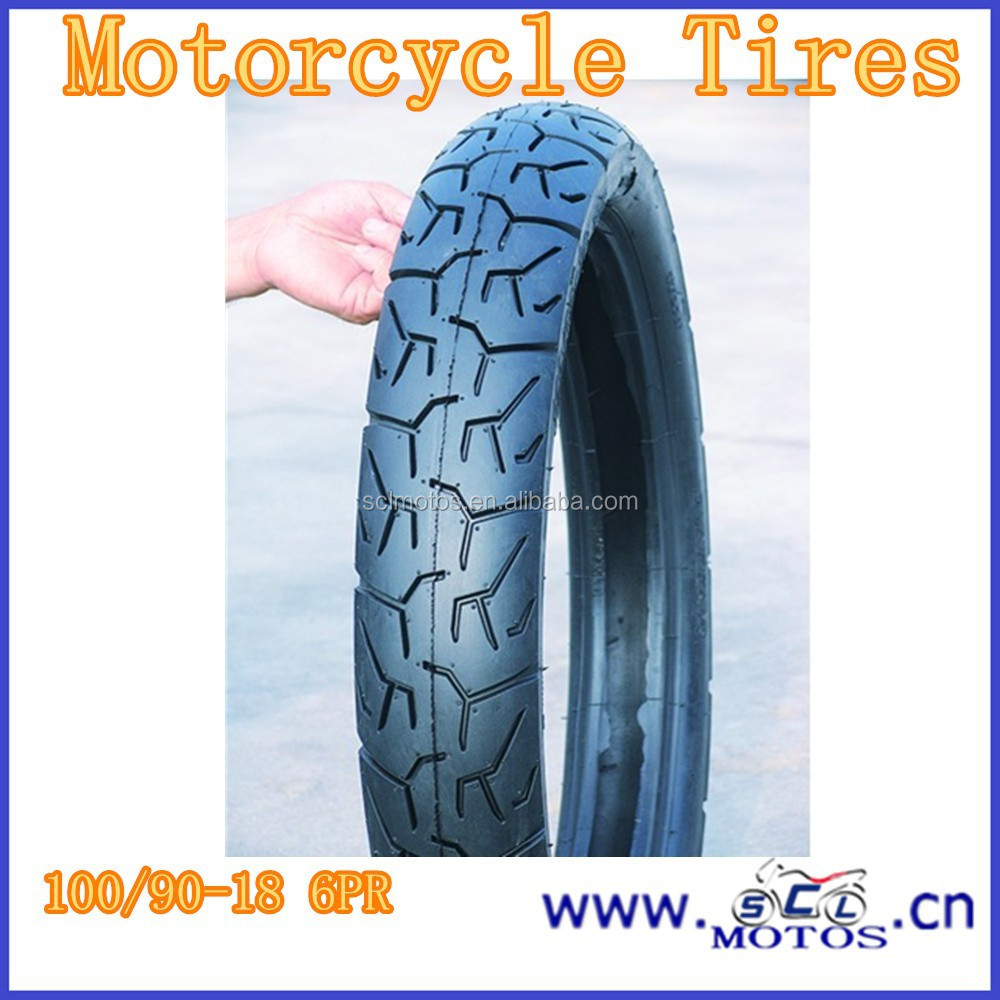 SCL-2012120499 Buying Cheap Motorcycle Tubeless Tire 100/90-18
