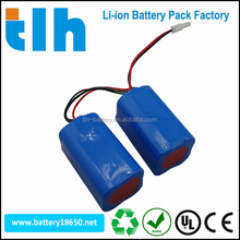 4400mAh14.4V lithium ion battery pack medical patient monitor