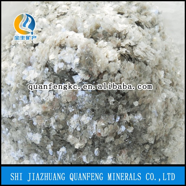 QF factory Muscovite Mica/Mica Powder/mica flakes for paint