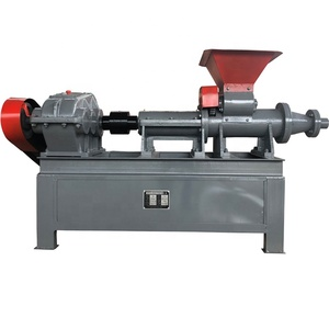 charcoal coal screw press briquette machine manufacture