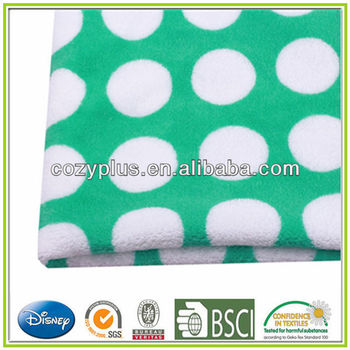 2014 100% Polyester Coral Fleece Fabric Blanket Fabric