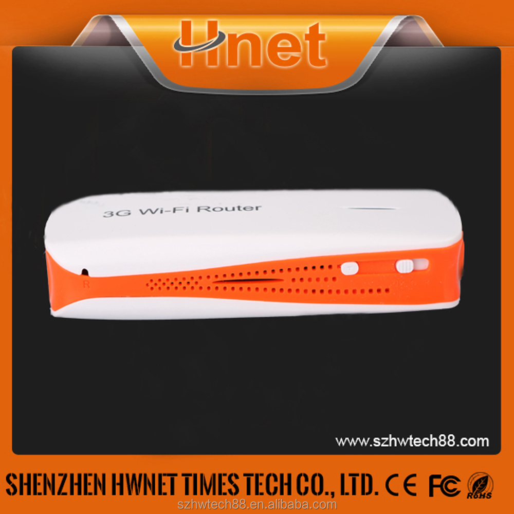 Mobile Device Pocket Mini Wi-Fi Modem 1500mAh 3G Internet Router