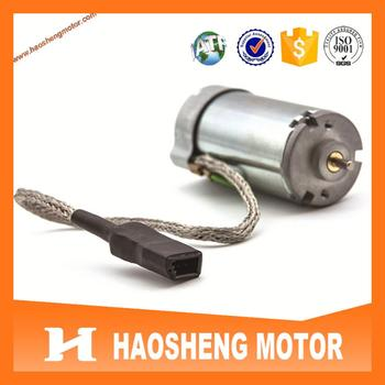 High quality TS16949 approval RH-487SD2548 Brushless DC Motor for BMW 7series back massage system.