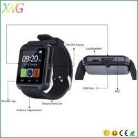 China Cheap Price of u8 smart watch phone with camera and sim card slot