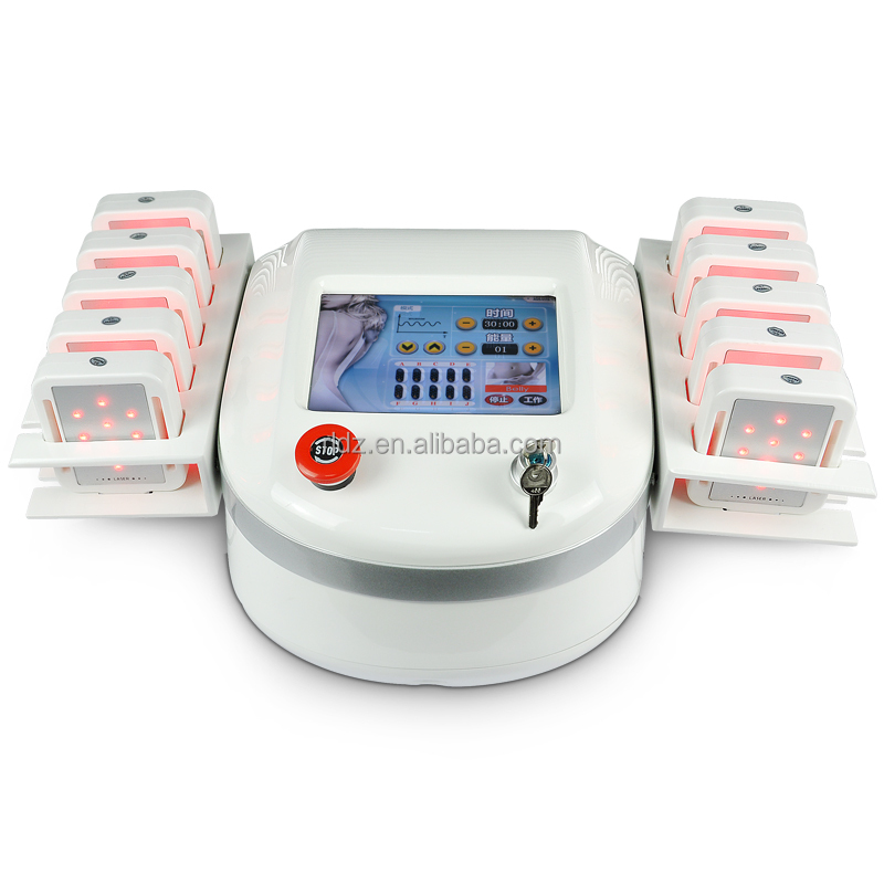 10 pads 650nm lipo laser / lipolaser machine for Weight Loss