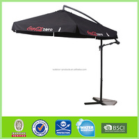 OEM ODM Windproof Sun protection cantilever uv patio beach umbrella