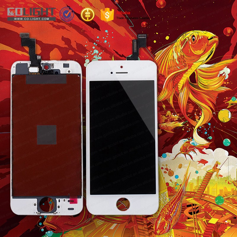 Gold supplier for iphone 5s lcd screen new arrival