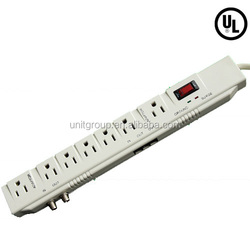 7 outlet surge suppressor, Telephone/fax/ Coaxial protection, 2400J