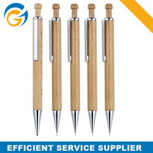 Recycle Wood Ball Pen with Metal Clip