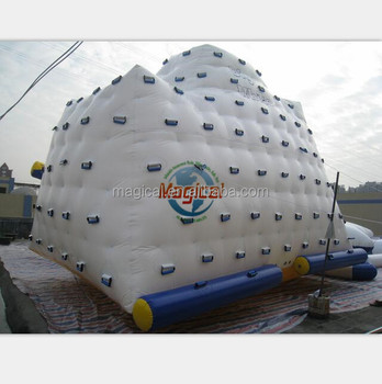 Inflatable water climbing inflatable iceberg inflatable water games