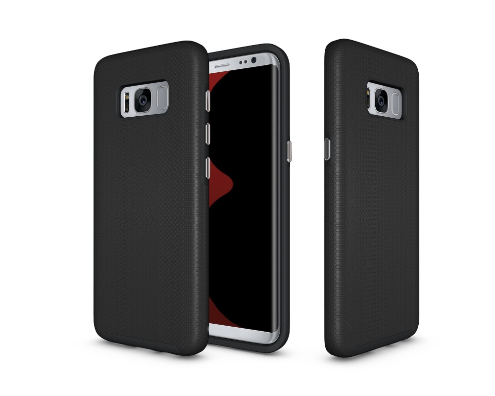 Armor Hybrid 2 in 1 Football Texture Rugged TPU Silicone PC Back Cover For Samsung Galaxy A3 2017 Phone Case