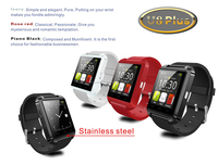 u8 Bluetooth Smartphone WristWatch U8 plus U Watch for iPhone Samsung S4/Note2/Note3 Android Phone ,ISO System