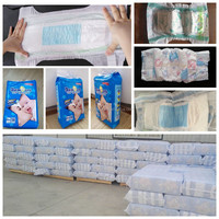 Free sample PE film blue ADL new products wholesale baby diapers in china