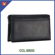Men's Genuine Leather Business Wrist Bag Handbag Men's Leather wrist bag