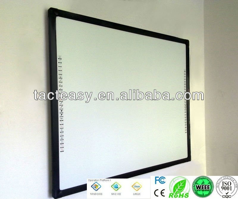 Infrared whiteboard big size smart board of 10 points touch Demo