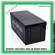 sealed lead 12v 200ah battery with rechargeable ce/iso/ul certification and used for alarm security system for sale