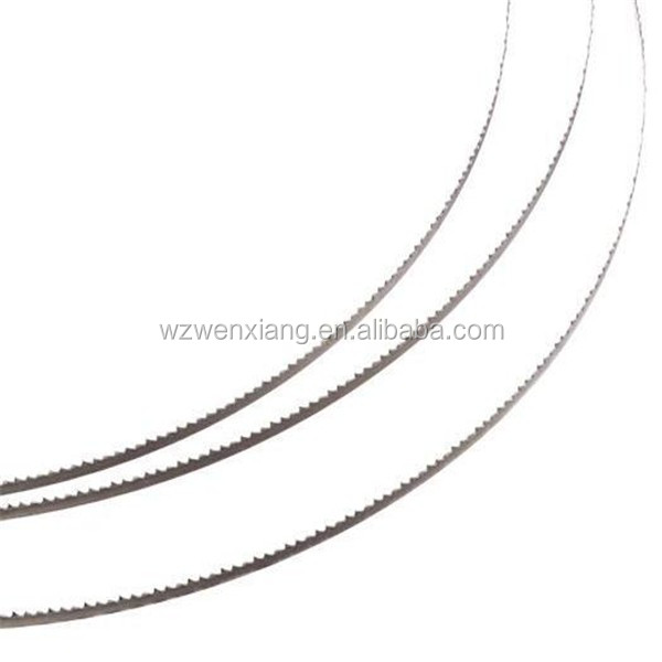 wenxiang narrow band sawblades SKS51 have good toughness