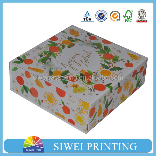 custom cmyk printed tuck end empty foladble cosmetic box colorful paper gift boxes