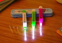 Plastic Colorful Cheap Novel LED flashlight earpick