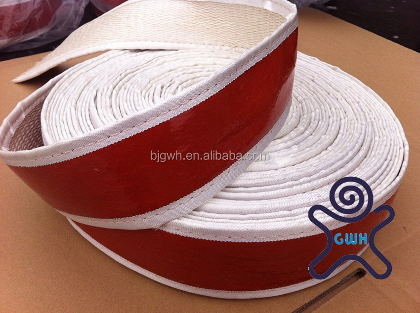Silicone Rubber Coated Fiberglass Braided Heat Wrap Tape