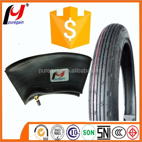 rubber inner tube material 250-17 motorcycle inner tube natural rubber inner tube