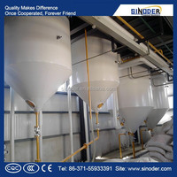 1T/D-100T/D edible oil refining machine oil refining equipment oil refinery catalysts