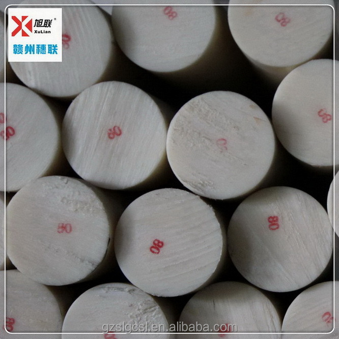 Customized colored chemical resistance virgin white pa 6 rod/nylon rod/pa66 rod