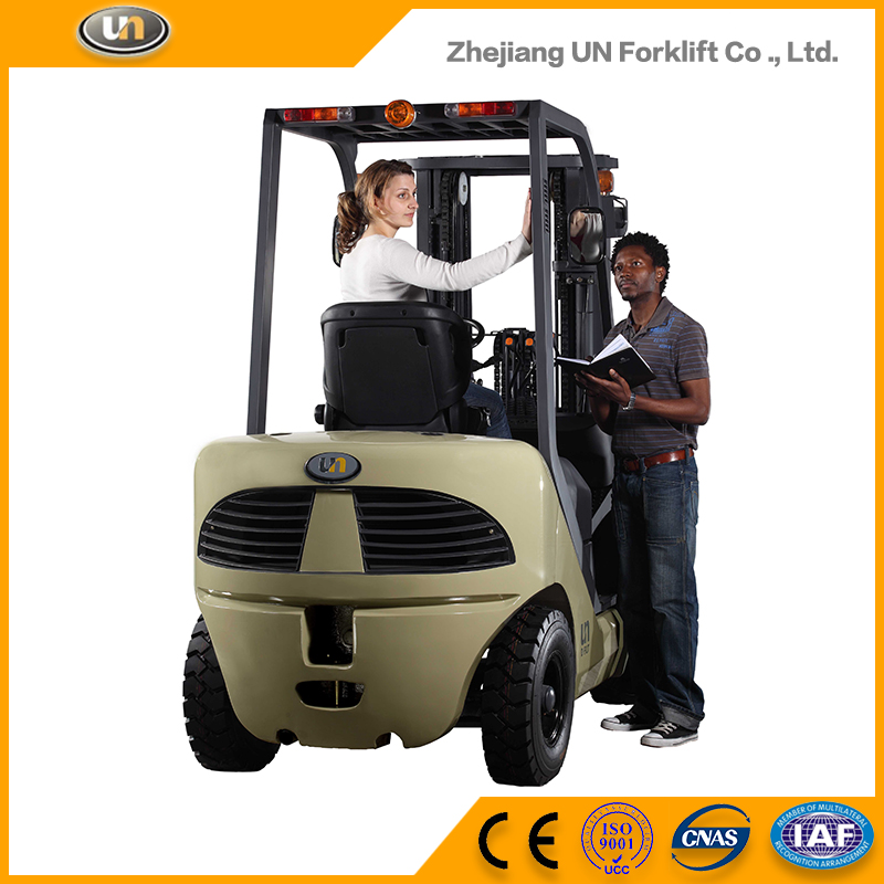 2-Stage Wide View Mast 4.5 m 5 Ton Side Loader Counter-Balanced Diesel Engine Forklift Truck Brand New
