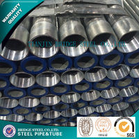 Reasonable price hot dip galvanized steel pipe used in oil and gas