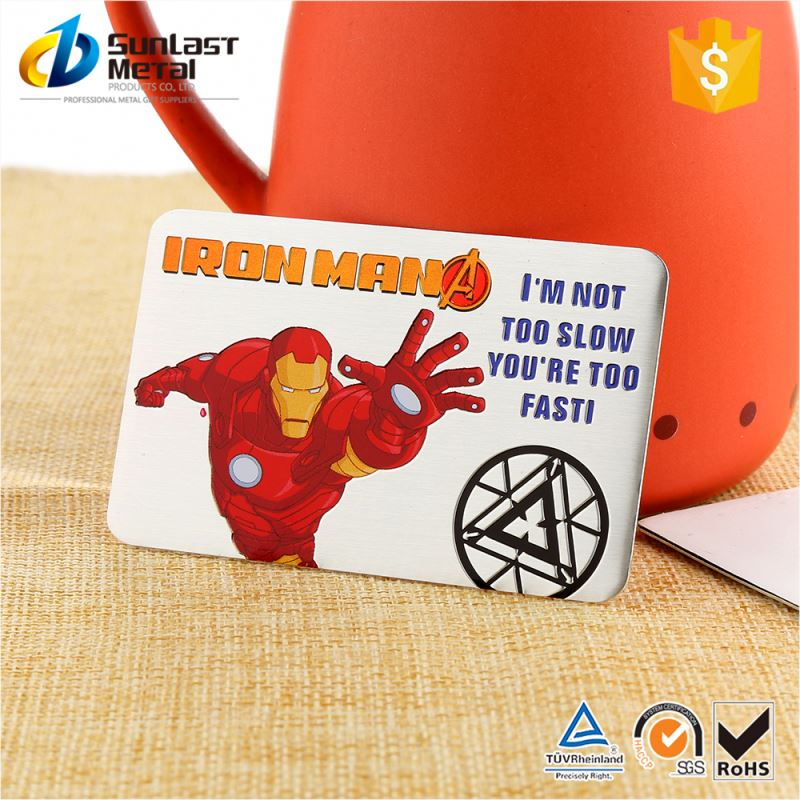 Best prices special design custom metal el car sticker wholesale