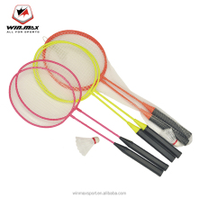 WINMAX indoor Sports Equipment custom Professional badminton racket with shuttlecock