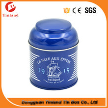 screw top round tin cans for food packaging