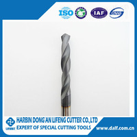 Durable tungsten carbide cutting tool TiCN drill bits for hole processing