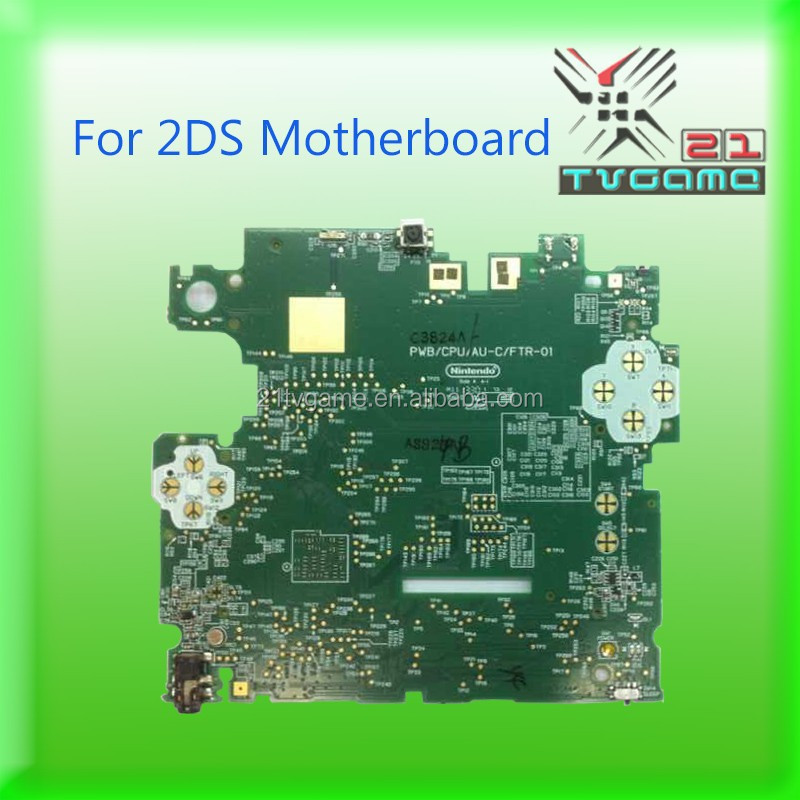 Original Motherboard USA Version For Nintendo 2DS available,Game Spare Parts Mainboard For 2DS