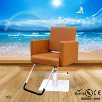 PU barber chair furniture parts/new design barber chair furniture parts/beauty salon styling chair (KZM-300)