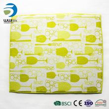 Modern apperance kitchen table plate washable microfiber cup mat