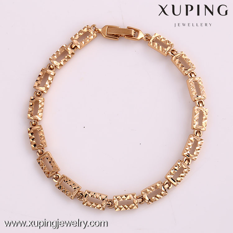 72313 jewelry elegant fashion knotted bracelet rose gold