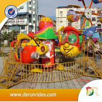 Hot !!! China cheap amusement park games children rides big eyes plane