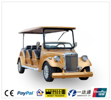 Chinese CE 48v 4kw 8 seater electric passenger car