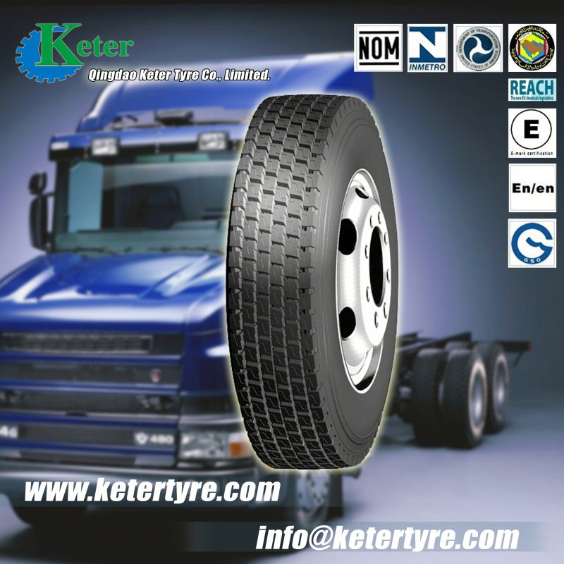 High quality ornet truck tyres, Keter Brand truck tyres with high performance, competitive pricing