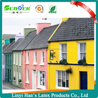 Han's Safe and easy-to-apply epoxy alkyd resin for exterior wall paint