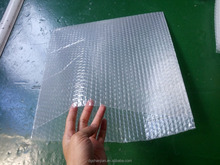 Clear double layer air bubble film bags