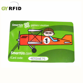 Customized Magnetic ISO High Quality NFC Card/Rewritable Rfid Card