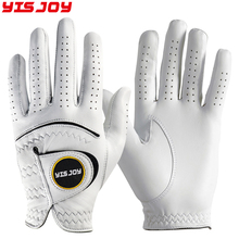 Men's left right hand personalised premium quality golf gloves