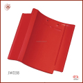 High Quality Fadeless Red Glossy Japanese Roof Tile
