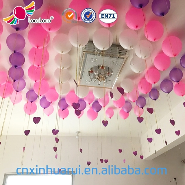 Factory wholesale Printable latex 10 inch marriage decoration balloons